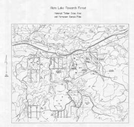 Aleza Lake Research Forest Historical Timber Sales Area and Permanent Sample Plots