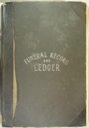 Richard Corless Funeral Ledger