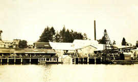 Cameron Genoa Mills Shipbuilders Ltd. as seen from the water