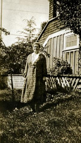 Bertha Collison at her home in Prince Rupert, BC
