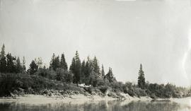 Camp on Fraser River near North Fork
