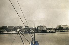 View of Victoria from the Inner Harbour