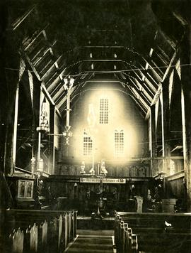 Interior view of unidentified church building