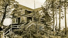 Home of Bertha and W.E. Collison in Prince Rupert, BC
