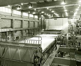 240-inch cantilevered fourdrinier in the Skeena Kraft mill
