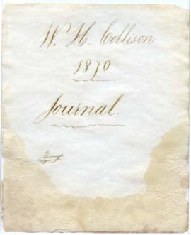Journal of W.H. Collison