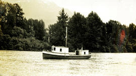 "Boat ""Louisa C"" at Greenville, BC"