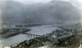 Pacific Great Eastern Railway bridge and Lillooet area