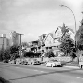 Large house, Beach Ave., Vancouver