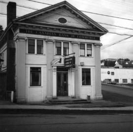 The Canadian Bank of Commerce in Ladysmith, B.C.