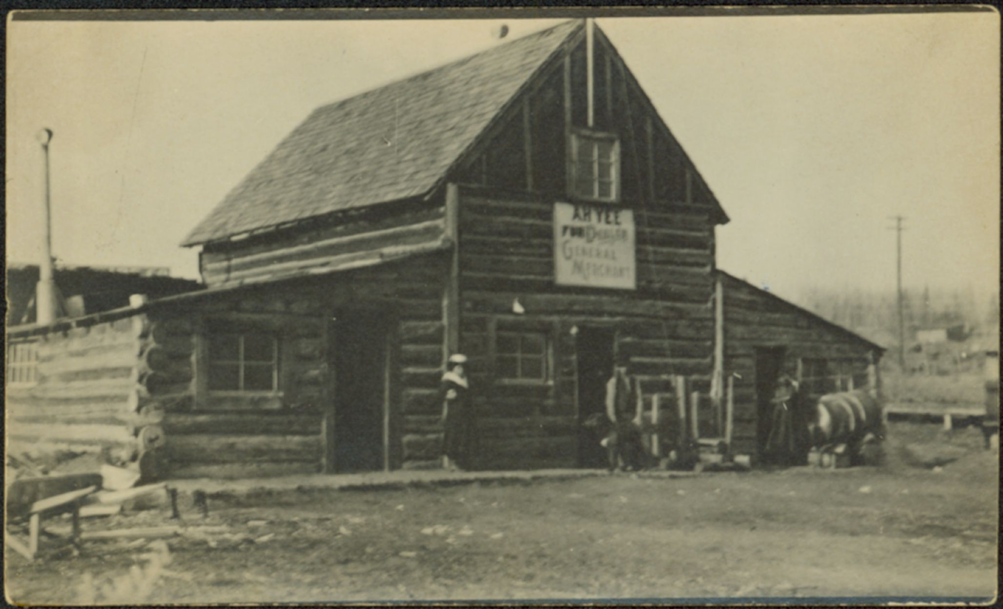 Ah Yees Store At South Fort George BC Northern BC Archives