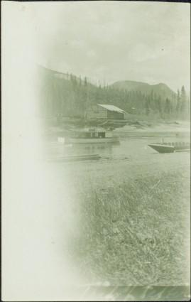 Boats and Building at Unknown Location