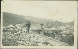 Placer Mining at Ingenika River, BC