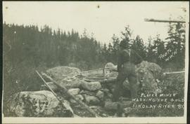 Placer Mining at Finlay River, BC