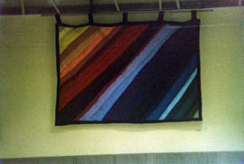 "Queen Charlotte City community hall tapestry ""Rainbow"""