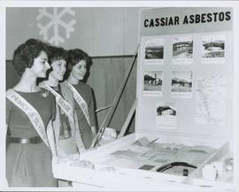 Silver Star Princesses at Cassiar Display Table