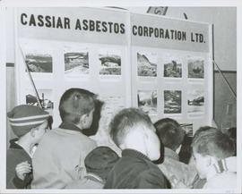 Young Boys at Cassiar Display Table