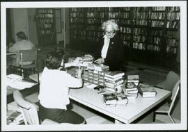 1965 - Mrs. Navin & others in Library