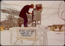 Community Album - Helen Joseph at Air Sampling Station
