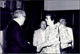 Moran Receiving Lieutenant Governor's Medal for Historical Writing
