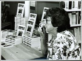 Moran at Book Signing of 'Judgement at Stoney Creek'