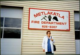 Bridget Moran at Metlakatla Fire Department