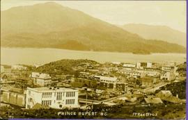 View of Prince Rupert, BC from Above