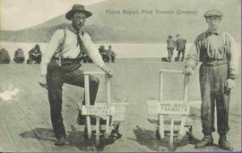 Two Men with Wheelbarrows: First Transfer Company in Prince Rupert, BC
