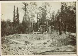 Placer Mining, Atlintod River, Atlin BC