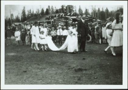 May Queen Procession in Prince George, BC - Northern BC Archives