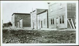 Early Street Buildings in Prince George, BC