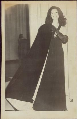 Iona Campagnolo in a formal gown