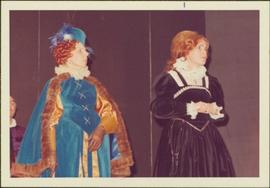 Rosemary Gilbert and May Diver in Costume as Queen Elizabeth & Mary Stuart