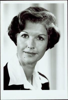 Official Portrait of Iona Campagnolo as Minister of State, Fitness and Amateur Sport, 1978-1979