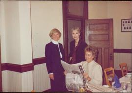 Iona Campagnolo with two unidentified women at the founding of the Regina Women's Network, Octobe...