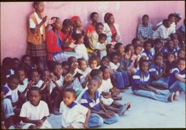 CUSO Mission in Angola - Group of unidentified children