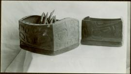 Bentwood boxes and spoons