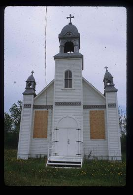 Boarded Up Church