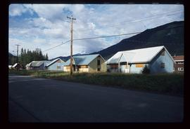 Granduc Townsite - Boarded Up Houses