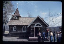 [Fort St. John?] - Log Church