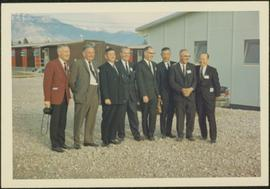 Opening of Crestwood Forest Industries pulp mill