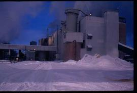 Pulpmill - General - Northwood Pulp and Timber - exterior winter view