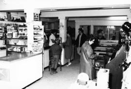 1965 - Marg McKenzie & others in Company Store