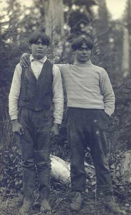 Two First Nations boys
