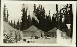 Tent Village at Teslin Lake, YT