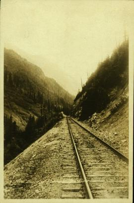Railroad on west slope of Cascade Mountains
