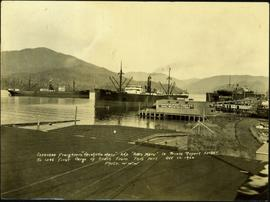 Japanese Freighters in Prince Rupert Harbour