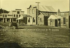 Corner of Laselle and Second Street, Fort George, BC
