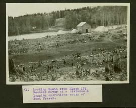 Logging operations south of Fort Fraser