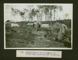 Sawmill outbuildings